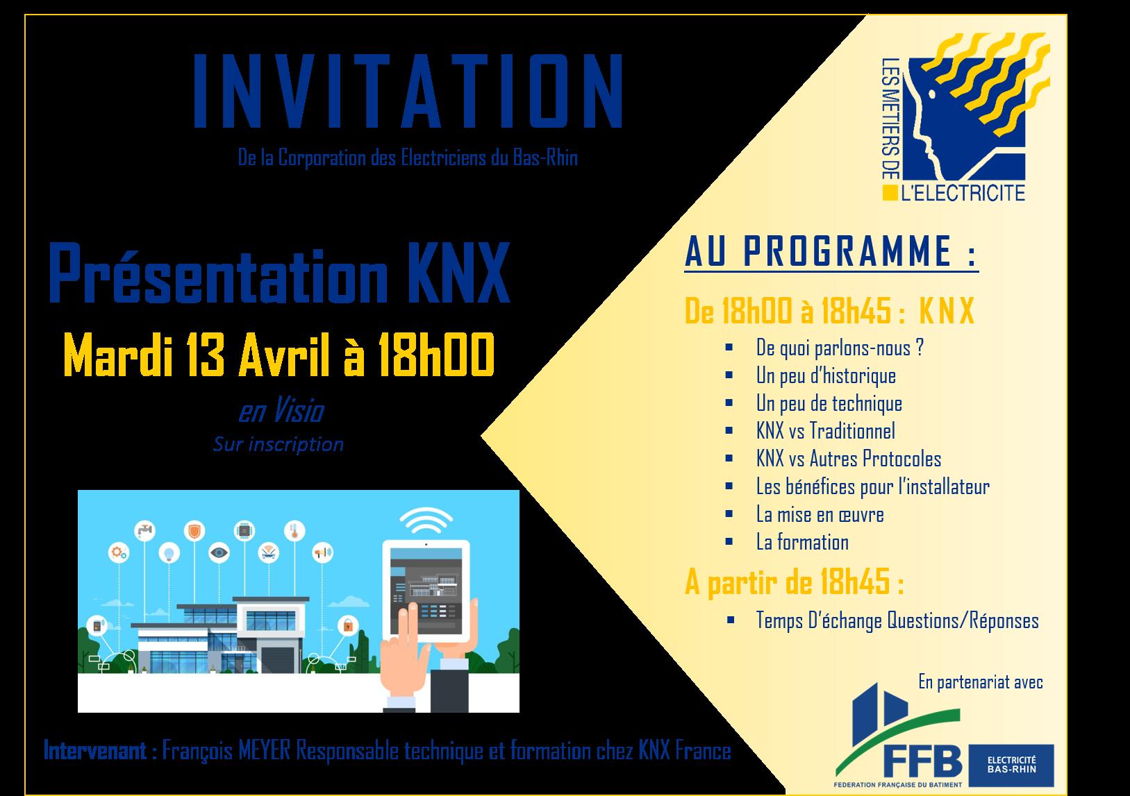 Invitation KNX